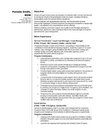 Example Work Resume by 65 Social Work Resumes 100 Social Work Sample Resume Case