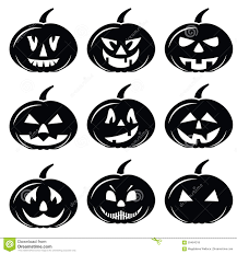 spooky symbols halloween clip art black and white schliferaward set of halloween