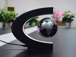 Office Desk Toys Anti Gravity Rotation Perpetual Motion Machine Maglev Globe Office