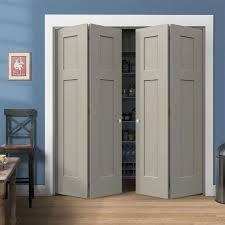 Folding Closet Door Simple Design Shaker Style Bi Fold Closet Doors Jeld Wen 72 In X