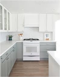 kitchen with grey cabinets and white appliances kitchen cabinets archives kitchen design ideas