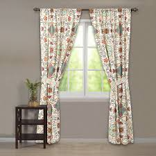 Good Valance Motifs Amazon Com Greenland Home Esprit Spice Curtain Panel Pair With