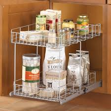 kitchen cabinet pull out organizers revashelf wood pullout