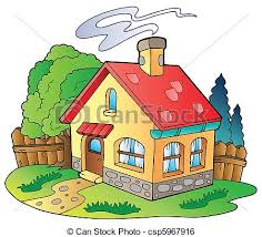 59 Best Small House Images by Small House Stock Illustrations 17 073 Small House Clip Art