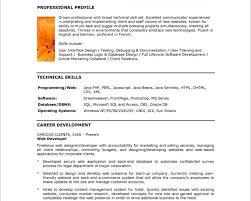 Sample Front End Developer Resume by Resume Web Developer Sample Virtren Com
