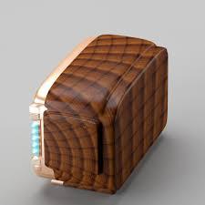 3d model retro radio in art deco style cgtrader