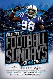 cadillac ranch indianapolis football sundays in indianapolis at cadillac ranch bartini s