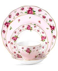 roses china royal albert country roses pink vintage collection