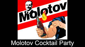 cocktail party cartoon molotov cocktail party youtube