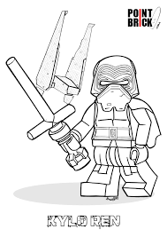 lego star wars coloring pages force awakens coloring