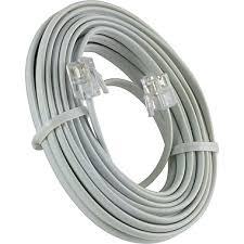 power gear telephone line cord 15 ft 76192 staples