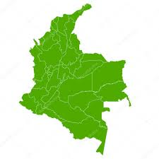 colombia map vector colombia map country icon stock vector jboy24 110990888