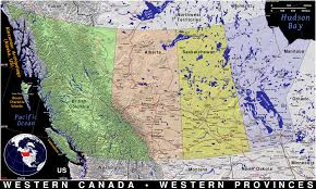 Brandeis Map Map Of Western States And Canada My Blog