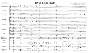 pinky and the brain pinky and the brain by calhoun b j w pepper sheet music