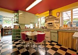 1960s Kitchen Want To Spice Up Your Retro 1960s House Put A Bowling Alley In