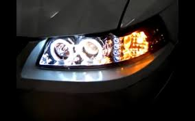 2002 ford mustang headlights 1999 2004 ford mustang halo led projector headlights installation