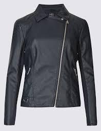 pu biker jacket m u0026s