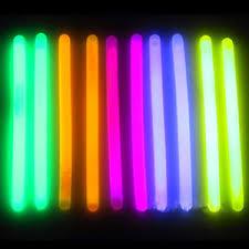 50 6 glow sticks light stick safety ebay