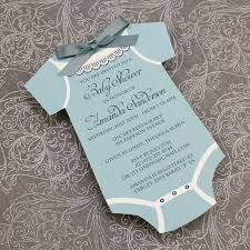 baby shower invitation template boys onsie print