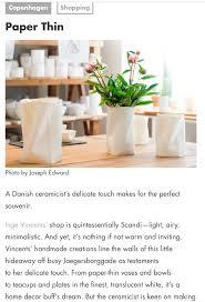 keramiker inge vincents seriel unika i porcelæn