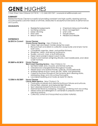 15 sle cleaning resume dtn info
