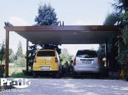 tettoia legno auto tettoie in legno per auto