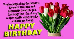 friend special birthday greeting card birthday greeting cards