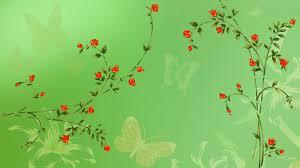 cartoon flower wallpaper