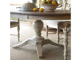 kincaid furniture weatherford milford round dining table package
