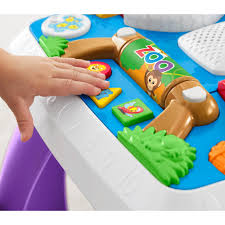 fisher price laugh u0026 learn around the town learning table