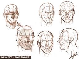 Face Vase Drawing Drawing Class Lesson 7 Planar Surfaces