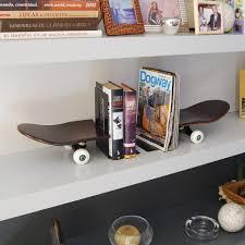 Skateboard Shelf This Skateboard Shelf Is Sure To Be Your Kids Favorite Bedroom