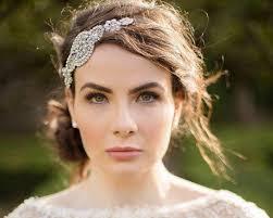 wedding headband rhinestone appliqué wedding headband zara jules bridal jewellery