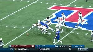 miss state vs la tech features 87 yard loss and third and 93