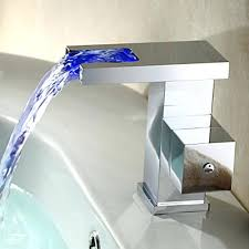 waterfall faucets bathroomcontemporary waterfall bathroom sink