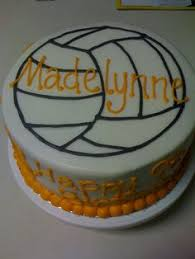 volleyball cake baking pinterest volleyball cakes