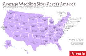 wedding costs the average cost of a wedding in each region of the u s