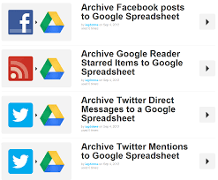 Spreadsheet Reader Archive Your Life How To Archive Your Social Channels With Ifttt