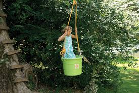 How To Build A Backyard Zip Line by Unconstructed Play State By State Gardening