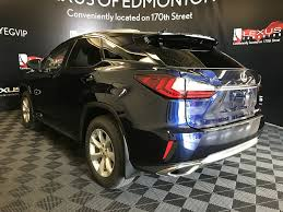 lexus rx 350 used edmonton pre owned 2017 lexus rx 350 demo unit standard package 4 door