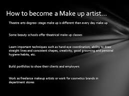 theatrical makeup classes elements literary the written story technical the