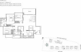 the glades condo floor plan u2013 3br suite u2013 c1 u2013 99 sqm 1066 sqft
