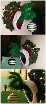 the grinch christmas tree diy grinch christmas crafts and decorations