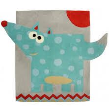 tapis de chambre enfant tapis chambre bébé pas cher renard nattiot fille garçon
