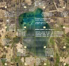 Lake Lanier Map James F D Lanier History And Genealogy Of Lake Maxinkuckee