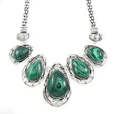 stone silver necklace images Search on by image jpg