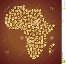 Map Of West Africa Adinkra Symbol Map Of Africa Stock Vector Image 41214654