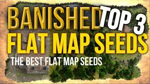 Flat Map Of The United States by Banished Top 3 Flat Map Seeds The Best Flat Map Seeds For
