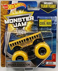 bus monster truck videos amazon com higher education bus 19 wheels off road