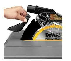 dewalt table saw dust collection dewalt dwe7490x 10 inch table saw review hometiptop